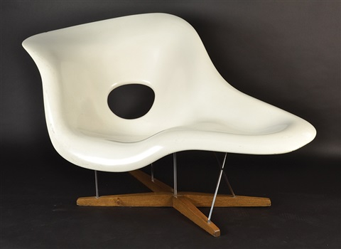 Marvelous La Chaise Lounge Chair By Charles And Ray Eames On Artnet Ibusinesslaw Wood Chair Design Ideas Ibusinesslaworg