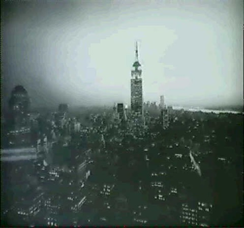 empire state building evening by nathaniel lieberman