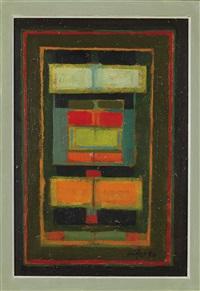 abstrakte komposition by hans forster