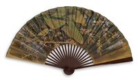 chine fan (from the palimpsest series) by joan fontcuberta