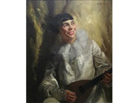 the pierrot musician by walter ernest webster