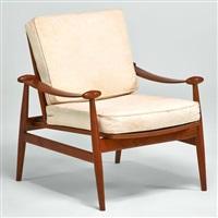 lounge chair model 133 by finn juhl