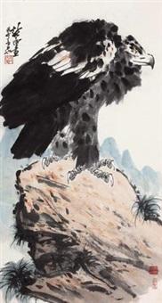 雄视众山小 (eagle) by xu chunyuan