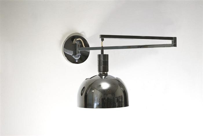 Lampada da muro regolabile della serie amas by franca helg antonio