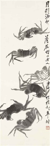 crabs by qi baishi