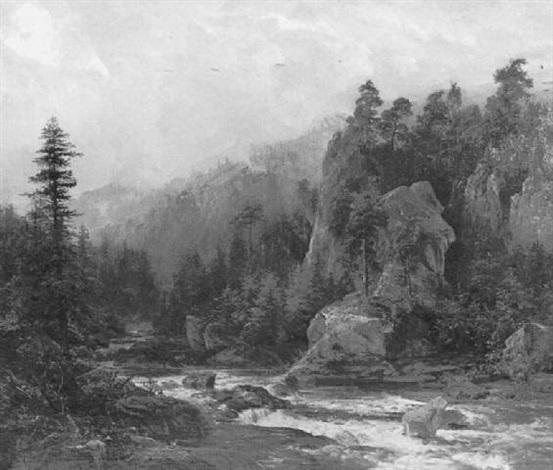 gebirgsbach by hellmuth rätzer