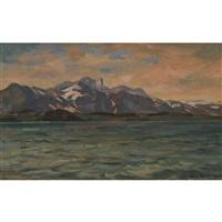 thunersee mit stockhornkette by hans gartmeier
