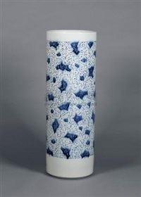 江南湿地 (porcelain arrow holder) by bai lei