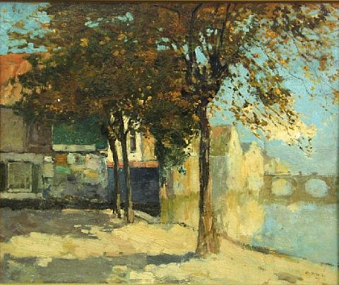 coin du village by armand adrien marie apol