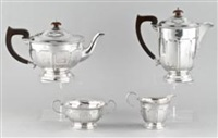 kaffee- und teeservice (set of 4) by adie brothers (co.)