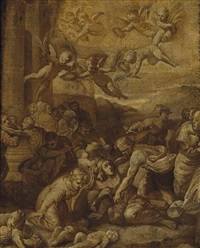 the massacre of the innocents by marcantonio bassetti