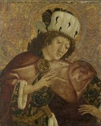 bildnis eines heiligen by michael pacher