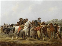 der araber schimmel by johann conrad gessner