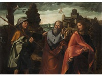 the road to emmaus by altobello meloni