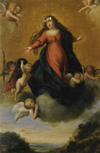 the assumption of the virgin by miguel alonso de tovar