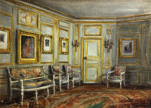 an interior at fontainebleau by frank moss bennett