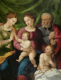 die mystische vermählung der heiligen katharina by bacchiacca
