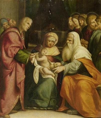 beschneidung christi by benvenuto tisi da garofalo