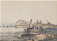 american fort niagara river by john richard coke smyth