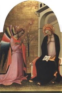 die verkündigung by lorenzo (piero di giovanni) monaco