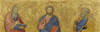 christus und die 12 apostel by andrea di bartolo