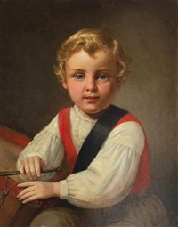 portrait of erwin, age five by peter baumgras