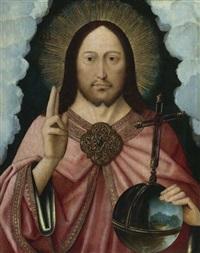 christus als salvator mundi by master of the mansi magdalene