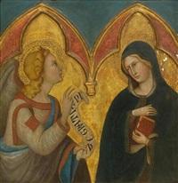 the annunciation by bartolo di fredi
