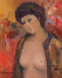 裸女 by shen che tsai