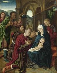 anbetung der könige by hugo van der goes