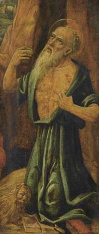der heilige hieronymus by vincenzo de foppa