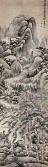 幽壑长松 by yun xiang