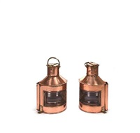 british port and starboard running lanterns (pair) by alderson & gayde ltd. (co.)