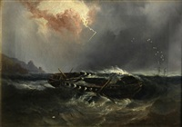 the wreck of an indiaman by william garthwaite