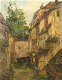 courtyard by theodor feucht