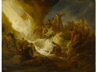 the raising of lazarus by benjamin gerritsz cuyp