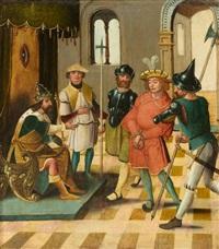 szene aus der josephslegende: joseph vor dem pharao und potiphar by anonymous-german (16)