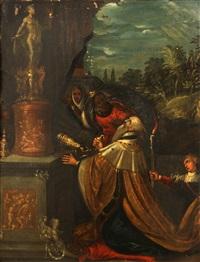 the idolatry of solomon by frans francken iii