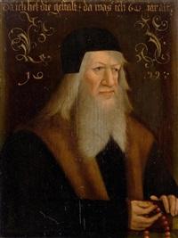 porträt eines bärtigen mannes by anonymous-german (15)