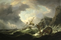 perilous waters by thomas luny