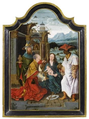 anbetung der heiligen drei könige by flemish school antwerp 16