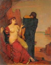 odysseus und kalypso by adolf frey-moock