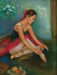 芭蕾少女 by shen che tsai