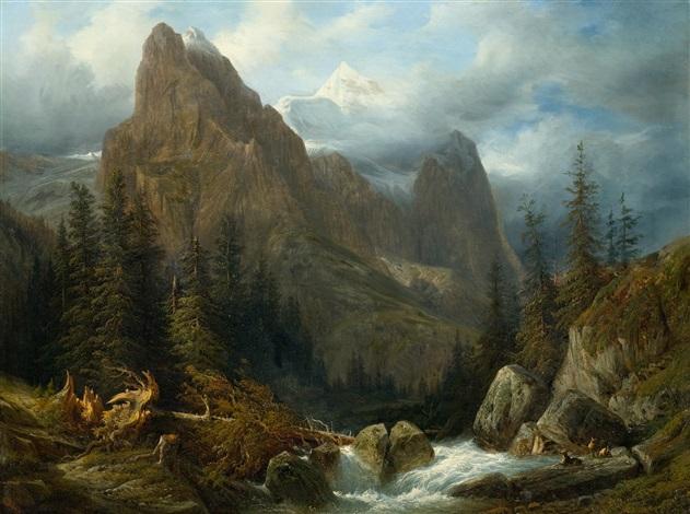 suisse cascade de giessbach