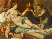 allegorie der liebe by jacob de backer