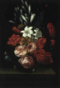 blumenstilleben by evert van aelst