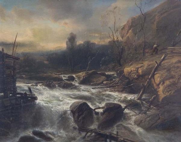 broken dam by jacob jacobs