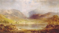 scotch scenery, loch long by robert scott duncanson