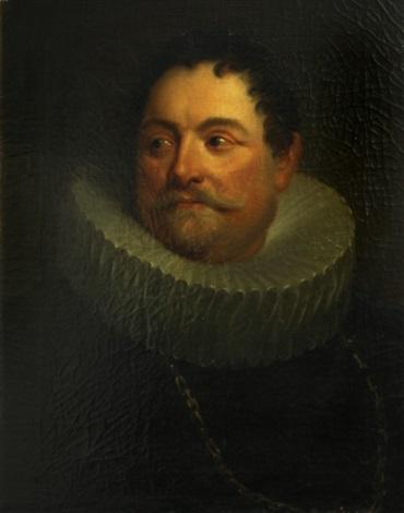 a portrait of jan van montfort by sir anthony van dyck