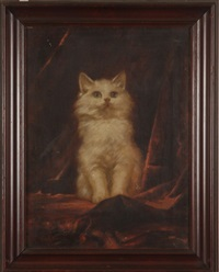 portrait of a cat by carl kahler
